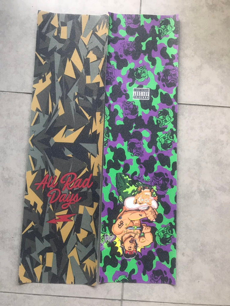 Custom Skateboard Grip Tape No Minimum - Brandsick.com