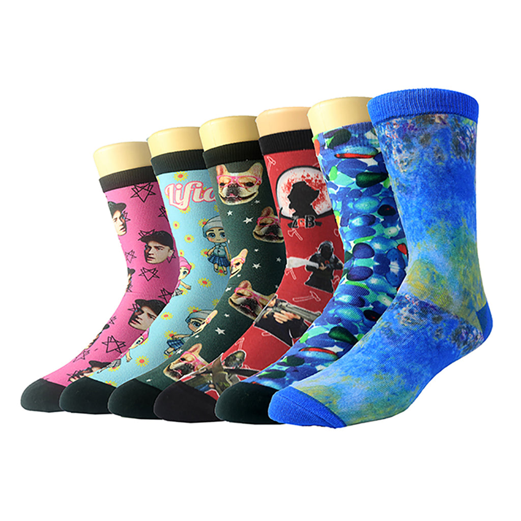 Custom Sublimation Printed Socks