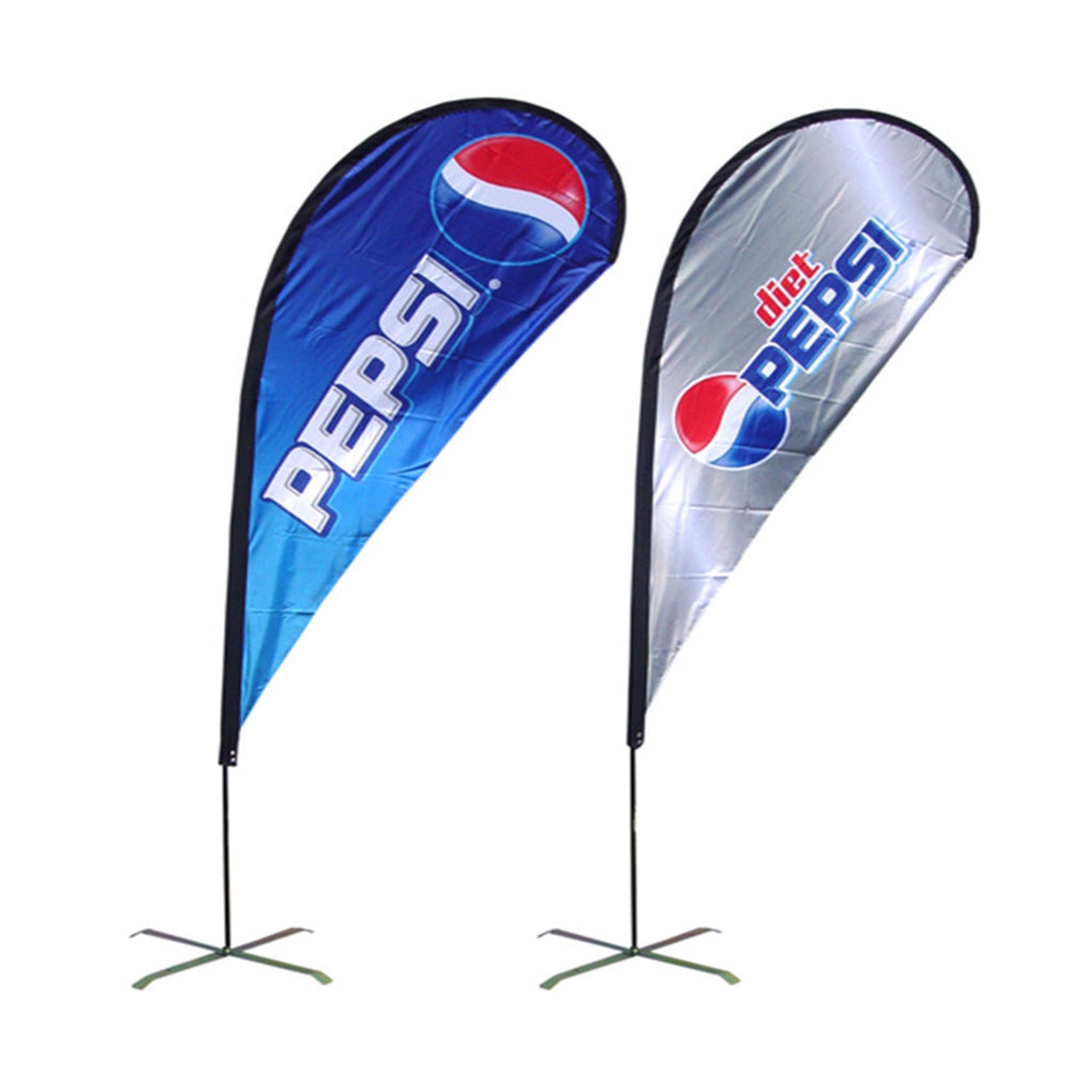 Custom Teardrop Flags Fast & Cheap Brandsick.com