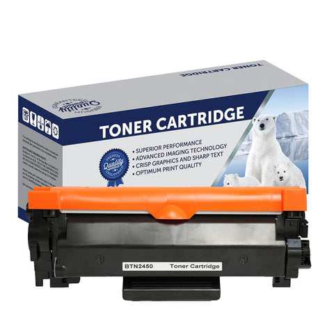 Your Ink Solutions' Compatible Brother TN2450 Mono Laser High Yield Cartridge  - 3,000 pages is the estimate yield.