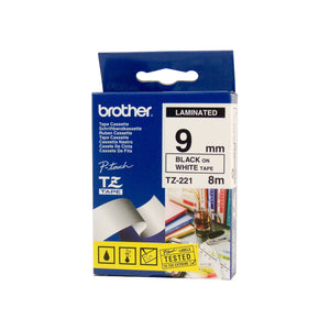 Your Ink Solution's Genuine OEM Brother TZe221 Labelling Tape