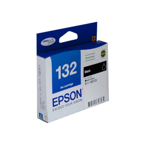 Your Ink Solution's Genuine OEM Epson 132 Black Ink Cartridge
