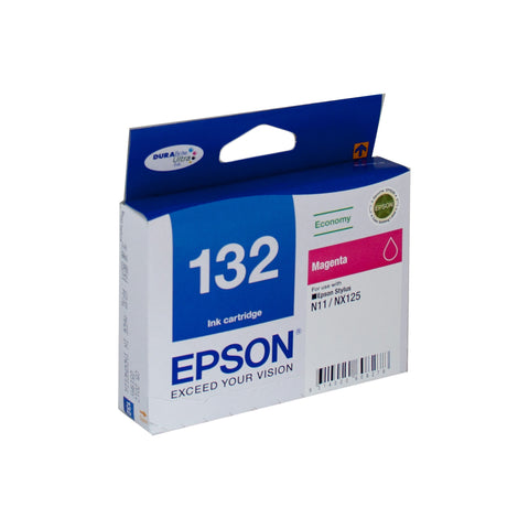 Your Ink Solution's Genuine OEM Epson 132 Magenta Ink Cartridge