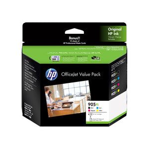 Your Ink Solution's Genuine OEM HP #905XL Ink Value Pack