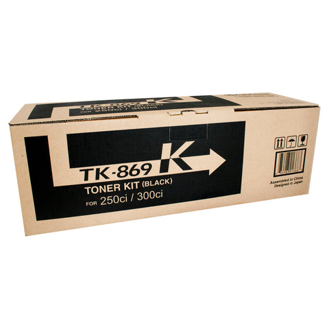 Your Ink Solution's Genuine OEM Kyocera TK869K Black Toner