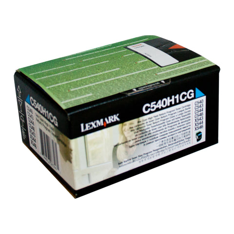 Your Ink Solution's Genuine OEM Lexmark C540H1CG Cyan Toner