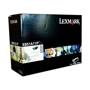 Your Ink Solution's Genuine OEM Lexmark X651A11P Prebate Toner