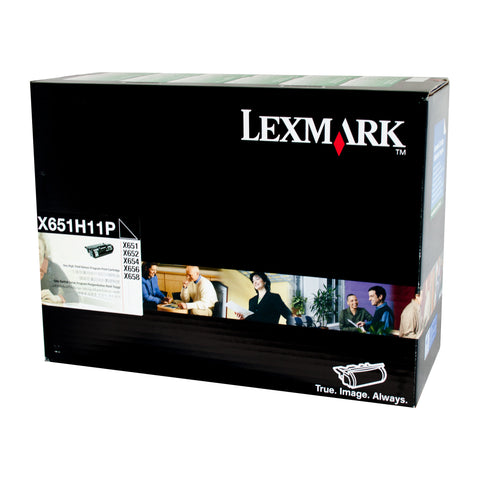 Your Ink Solution's Genuine OEM Lexmark X651H11P HY Prebate Cartridge