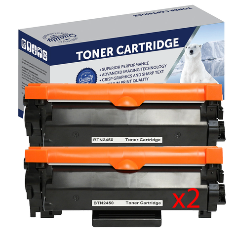 Your Ink Solutions' Compatible Brother TN2450 Mono Laser High Yield Cartridge Double Pack  - 3,000 pages