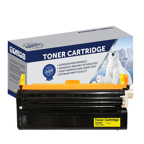 Your Ink Solutions' Compatible Xerox CT350570 (C3290Y) Yellow Laser Cartridge - 6,000 pages is the estimate yield.