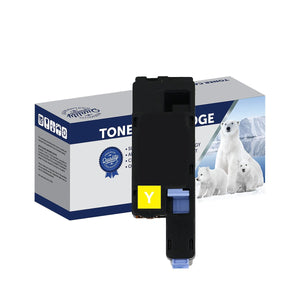 Your Ink Solutions' Compatible Xerox CT202267 (CP225Y) Yellow Laser Cartridge - 1,400 pages is the estimate yield.