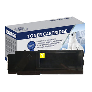 Your Ink Solutions' Compatible Xerox CT202036 (CP405Y) Yellow Laser Cartridge - 11,000 pages is the estimate yield.