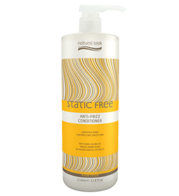 NATURAL LOOK ANTI-FRIZZ ~ CONDITIONER ~ 1 Litre ~ NATURAL LOOK Collection