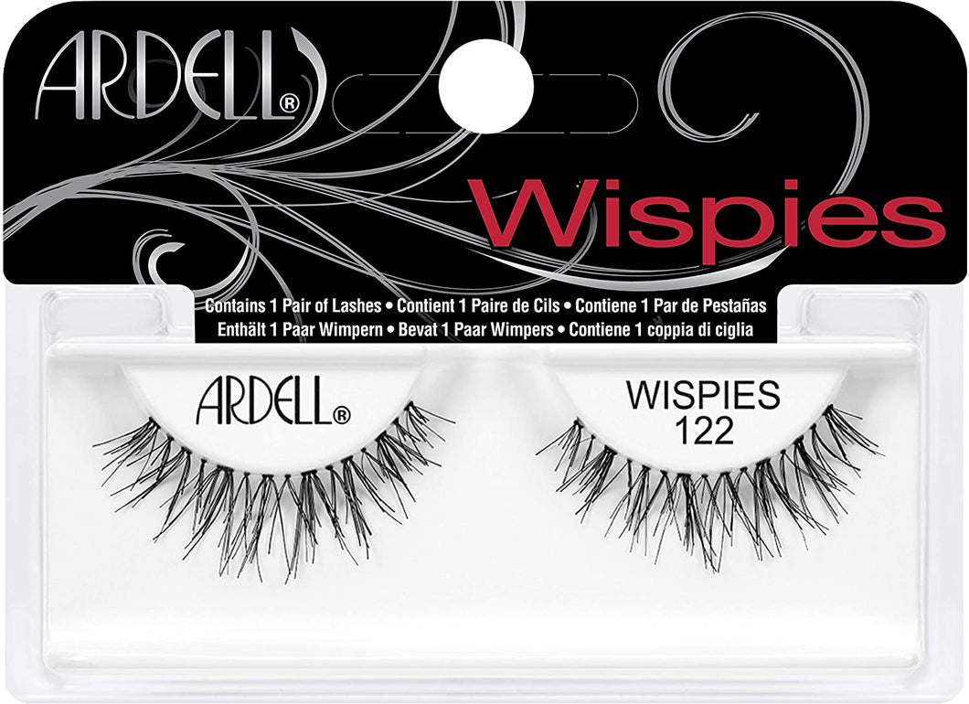 WISPIES BLACK WISPIES 122 ~ NATURAL STRIP LASH RANGE ~ ARDELL Collection