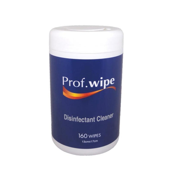 Disinfectant Cleaner PROF Wipes 160pk
