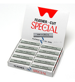 RAZOR BLADES FEATHER ~ CUT 'SPECIAL' BLADES ~ SUNDRIES ~ RAZORS & BLADES Collection