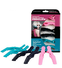 Load image into Gallery viewer, PASTEL ~ RUBBERIZED DOUBLE JOINTED PROCLIPS ~ SECTION CLIPS RANGE ~ CRICKET Collection