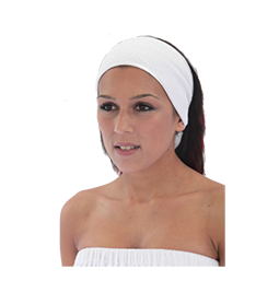 BEAUTY PRO OILS HEAD BANDS ~ (Pack of 2) ~ SINGLE SIDED TOWELLING ~ SUNDRIES Collection