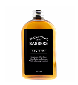 BAY RUM ~ 250ml ~ TRADITIONAL BARBERS Collection