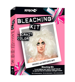 BLEACHING KIT ~ CRAZY COLOR Collection