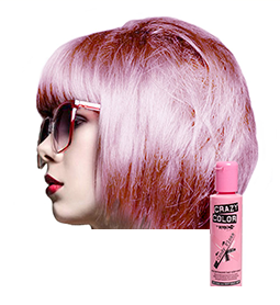 CRAZY COLOUR CANDY FLOSS ~ SEMI-PERMANENT HAIR COLOUR CREAM ~ CRAZY COLOR Collection