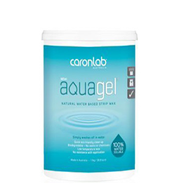 AQUAGEL ~ WATER BASED ~ STRIP WAX ~ CARON Collection