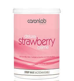 DELUXE STRAWBERRY CREME ~ STRIP WAX ~ CARON Collection