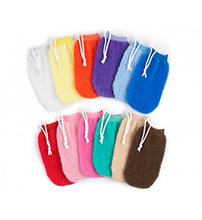 Load image into Gallery viewer, Milano Exfoliating Mitt ~ CARON Collection