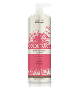 NATURAL LOOK COLOURANCE ~ SHINE ENHANCING SHAMPOO ~ 1 Litre ~ NATURAL LOOK Collection