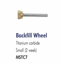 2 WEEK ~ BACKFILL WHEEL ~ SMALL ~ TITANIUM CARBIDE ~ DRILL BIT Collection