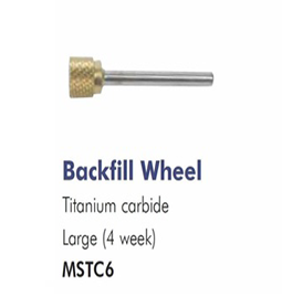 4 WEEK ~ BACKFILL WHEEL ~ LARGE ~ TITANIUM CARBIDE ~ DRILL BIT Collection