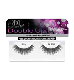 ARDELL 205 BLACK ~ DOUBLE UP STRIP LASH RANGE ~ ARDELL Collection
