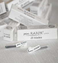 Load image into Gallery viewer, BLADES ~ 20 Pack ~ PEN RAZOR REFILLS ~ SUNDRIES ~ BARBER Collection