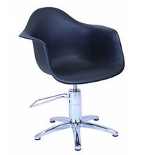 Load image into Gallery viewer, Erica ~ Hydraulic Styling Chair ~ Black ~ Joiken Collection ~ Rubys Salon Supplies