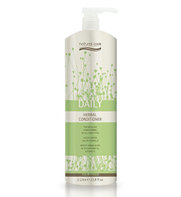 DAILY ~ HERBAL CONDITIONER ~ 1 Litre ~ NATURAL LOOK Collection