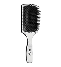 LARGE ~ SILVER ~ PADDLE BRUSH ~ HI LIFT Collection