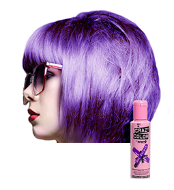 CRAZY COLOUR HOT PURPLE ~ SEMI-PERMANENT HAIR COLOUR CREAM ~ CRAZY COLOR Collection