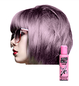 CRAZY COLOUR ICE MAUVE ~ SEMI-PERMANENT HAIR COLOUR CREAM ~ CRAZY COLOR Collection