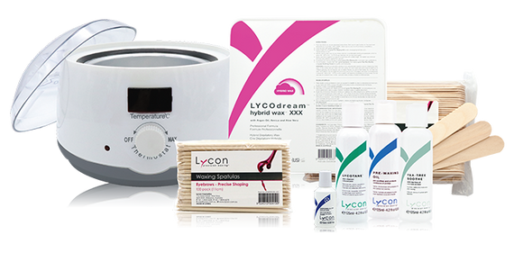 LYCON | HOT | PROFESSIONAL WAXING KIT