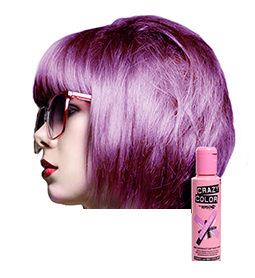 CRAZY COLOUR LAVENDER ~ SEMI-PERMANENT HAIR COLOUR CREAM ~ CRAZY COLOR Collection