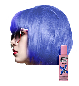 CRAZY COLOUR LILAC ~ SEMI-PERMANENT HAIR COLOUR CREAM ~ CRAZY COLOR Collection