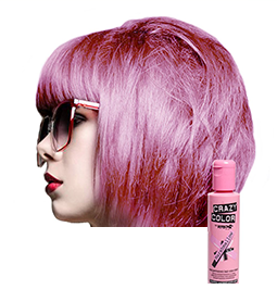 CRAZY COLOUR MARSHMALLOW ~ SEMI-PERMANENT HAIR COLOUR CREAM ~ CRAZY COLOR Collection