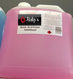 NON ACETONE ~ VARIOUS SIZES ~ RUBY'S Collection