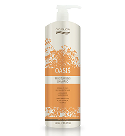 NATURAL LOOK OASIS ~ MOISTURISING SHAMPOO ~ 1 Litre ~ NATURAL LOOK Collection