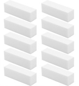 BULK BUY ~ 10 @ $17 ~ 100/100/100/100 ~ 4 SIDED ~ WHITE BUFFER ~ BLOCK ~ FILE Collection