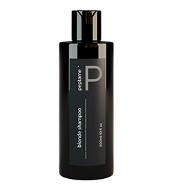 BLONDE SHAMPOO ~ 300ml ~ PEPTAME Collection