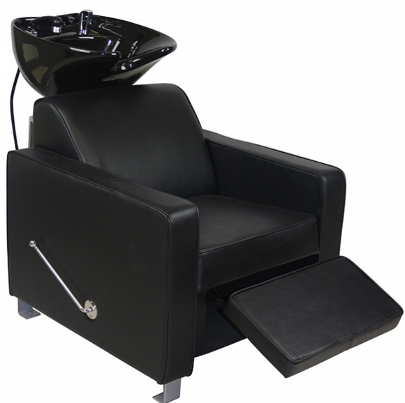 JOIKEN DERBY ~ SHAMPOO UNIT ~ BLACK UPHOLSTERY ~ JOIKEN Collection