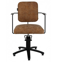 Load image into Gallery viewer, ESTELLE ~ HYDRAULIC ~ CUTTING CHAIR ~ TAN or BLACK ~ JOIKEN Collection