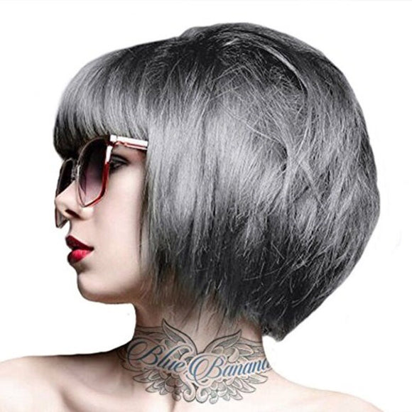 CRAZY COLOUR GRAPHITE ~ SEMI-PERMANENT HAIR COLOUR CREAM ~ CRAZY COLOR Collection