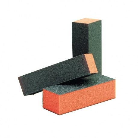 BULK BUY 10 for $20 ~ 100/180/180 ~ 3 SIDED ~ ORANGE CORE ~ BLACK BUFFER ~ BLOCK ~ FILE Collection